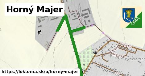 ilustrácia k Horný majer, Lok - 161m