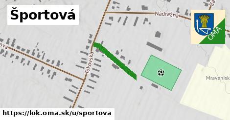 ilustrácia k Športová, Lok - 270m