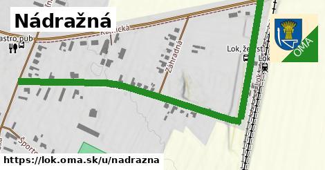 ilustrácia k Nádražná, Lok - 0,80km