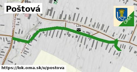 ilustrácia k Poštová, Lok - 685m