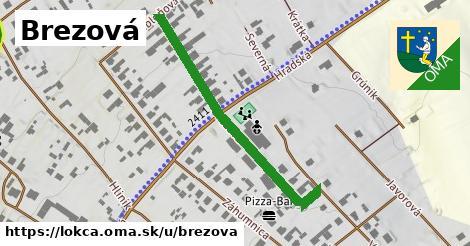 ilustrácia k Brezová, Lokca - 411m