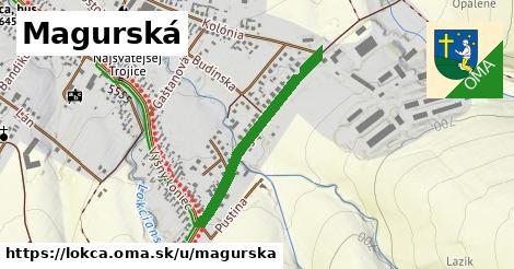 ilustrácia k Magurská, Lokca - 618m
