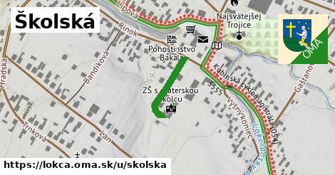 ilustrácia k Školská, Lokca - 153m