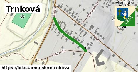 ilustrácia k Trnková, Lokca - 263m