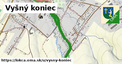 ilustrácia k Vyšný koniec, Lokca - 0,82km
