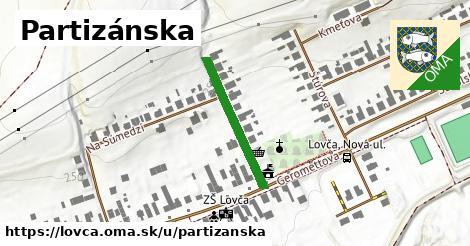 ilustrácia k Partizánska, Lovča - 222m
