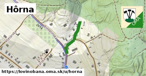 ilustrácia k Hôrna, Lovinobaňa - 165m