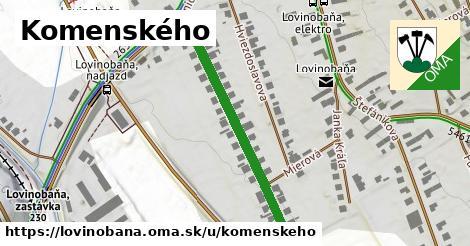 ilustrácia k Komenského, Lovinobaňa - 399m