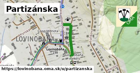ilustračný obrázok k Partizánska, Lovinobaňa
