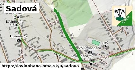 ilustračný obrázok k Sadová, Lovinobaňa