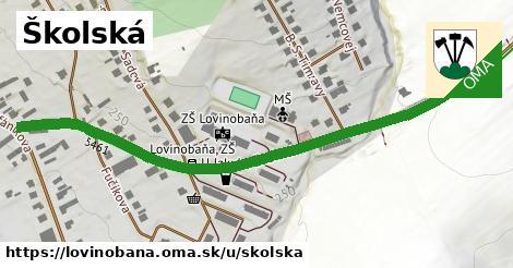 ilustrácia k Školská, Lovinobaňa - 0,74km