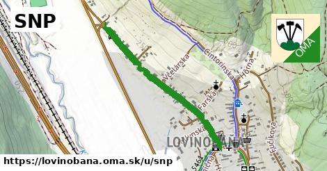 ilustračný obrázok k SNP, Lovinobaňa