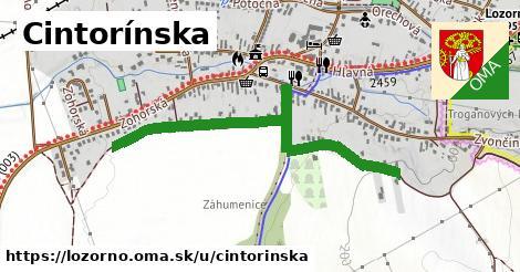 ilustrácia k Cintorínska, Lozorno - 354m