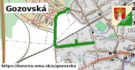 ilustrácia k Gozovská, Lozorno - 1,09km