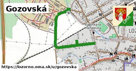 ilustračný obrázok k Gozovská, Lozorno