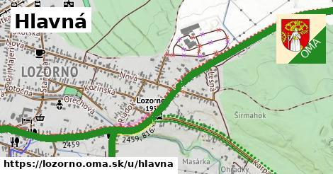 ilustrácia k Hlavná, Lozorno - 661m
