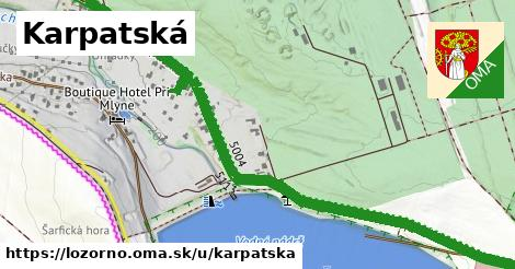 ilustrácia k Karpatská, Lozorno - 1,17km