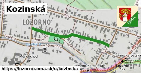 ilustračný obrázok k Kozinská, Lozorno
