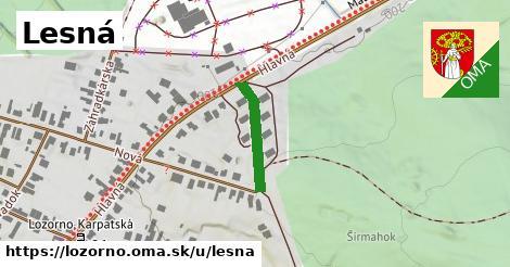 ilustrácia k Lesná, Lozorno - 378m