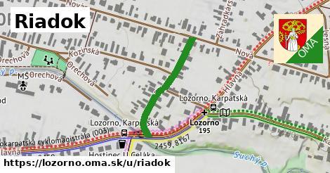 ilustrácia k Riadok, Lozorno - 256m