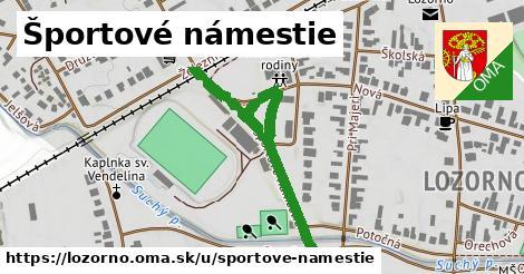 ilustrácia k Športové námestie, Lozorno - 491m