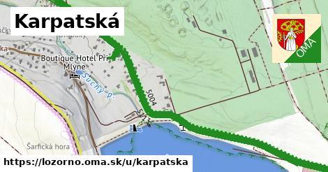 ilustrácia k Karpatská, Lozorno - 1,15km
