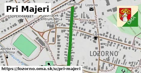 ilustrácia k Pri majeri, Lozorno - 317m