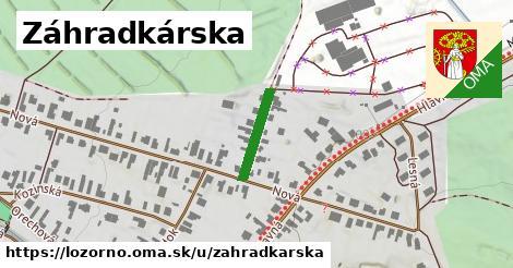 ilustrácia k Záhradkárska, Lozorno - 284m
