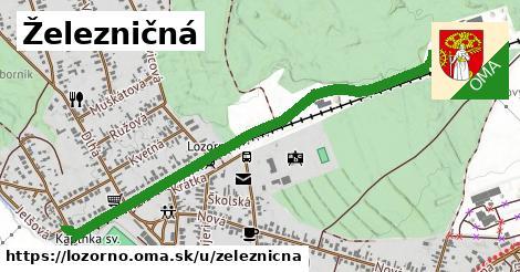 ilustrácia k Železničná, Lozorno - 1,26km