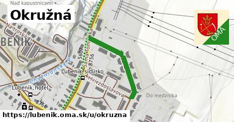 ilustrácia k Okružná, Lubeník - 269m