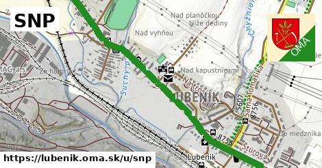 ilustračný obrázok k SNP, Lubeník