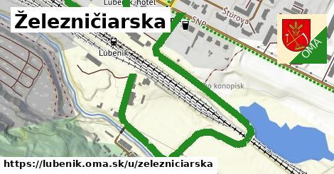 ilustrácia k Železničiarska, Lubeník - 0,99km