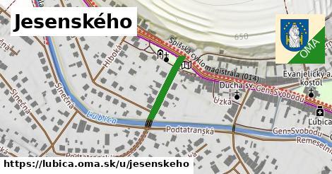 ilustrácia k Jesenského, Ľubica - 157m