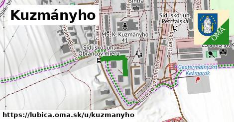 ilustrácia k Kuzmányho, Ľubica - 522m