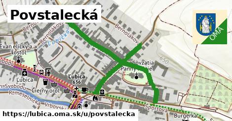 ilustrácia k Povstalecká, Ľubica - 0,91km