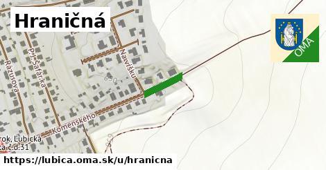 ilustrácia k Hraničná, Ľubica - 107m