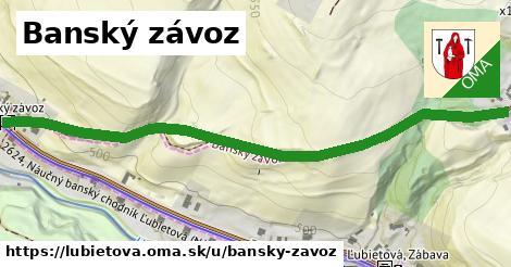 ilustrácia k Banský závoz, Ľubietová - 0,76km