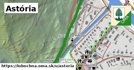 ilustračný obrázok k Astória, Ľubochňa