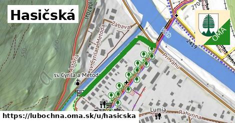 ilustrácia k Hasičská, Ľubochňa - 314m