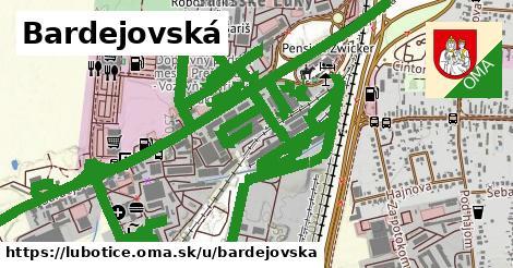 ilustračný obrázok k Bardejovská, Ľubotice