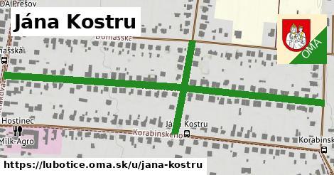 ilustračný obrázok k Jána Kostru, Ľubotice