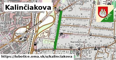 ilustrácia k Kalinčiakova, Ľubotice - 501m