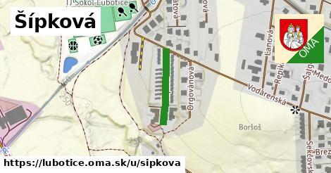 ilustrácia k Šípková, Ľubotice - 270m