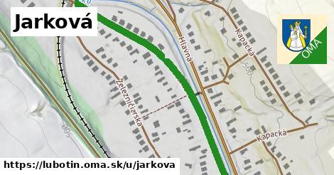 ilustrácia k Jarková, Ľubotín - 616m