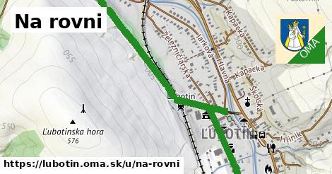 ilustrácia k Na Rovni, Ľubotín - 1,83km