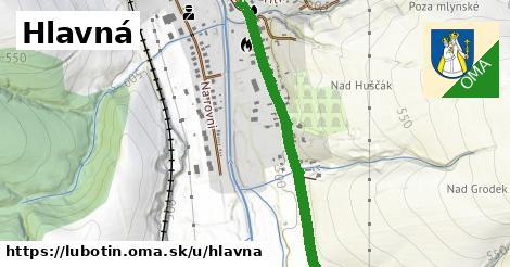 ilustrácia k Hlavná, Ľubotín - 2,4km
