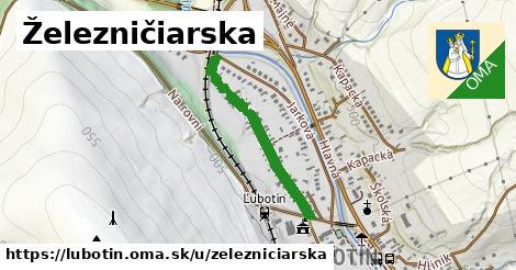 ilustrácia k Železničiarska, Ľubotín - 558m