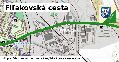 ilustrácia k Fiľakovská cesta, Lučenec - 2,1km