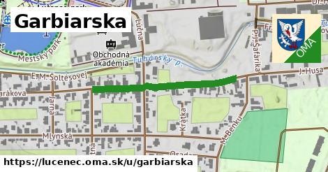 ilustrácia k Garbiarska, Lučenec - 330m