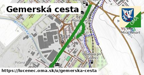 ilustrácia k Gemerská cesta, Lučenec - 2,2km